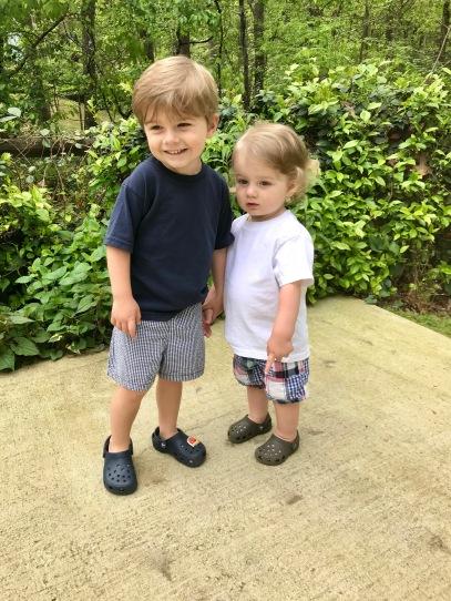 my two boys, caleb and asa